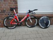 Triathlonrad Zeitfahrrad Carbon
