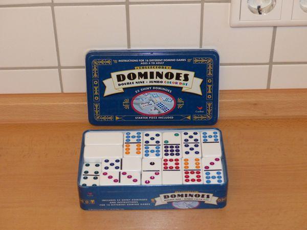 Amerikanisches Domino - Spiel neuwertig