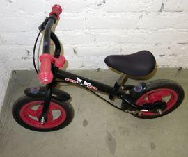 Kinder-Fahrräder - Laufrad metall schwarz