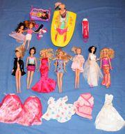 Barbie Puppen Kleider Jetski