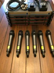 6x UHF Empfänger Sennheiser EM