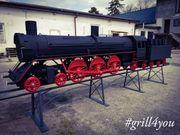 Grill BBQ Lokomotive grill4you TOP