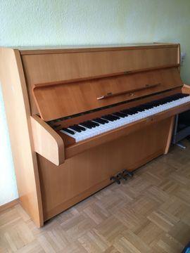 Sauter Marken-Klavier wenig gespielt guter: Kleinanzeigen aus Mannheim Gartenstadt - Rubrik Tasteninstrumente