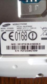 Samsung kleines handy