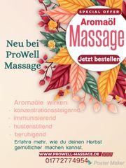 Mobile Massage bei Tino