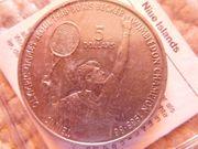 Boris Becker 5 Neuseeland-Dollar Olympic