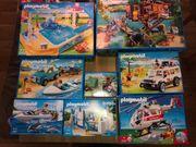 14 Playmobil-Sets in Original-Verpackung