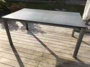 Sieger Exclusiv Aluminium Gartentisch mit