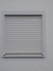 Rolläden PVC weiß hell glatt