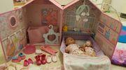 Große Puppensammlung Baby Annabelle und