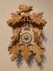 Original Schwarzwälder Kuckucks-Uhr 8 T