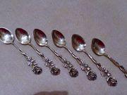 Mocca Löffelchen aus Silber