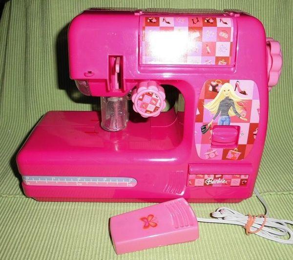 Gebraucht Barbie Nähmaschine Lexibook
