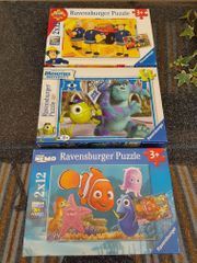 3 Stück Ravensburger Puzzle für