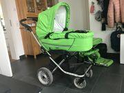 Kinderwagen Emmaljunga mit Babyschale und