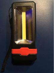LED Arbeitslampe mit Taschenlampen Funktion