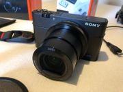 Sony Cyber-shot DSC-RX100MV Digitalkamera schwarz