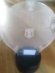 Besiktas Istanbul BJK 3D Lampe