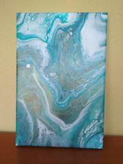 Acrylbild Pouring