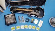 E-Gitarre Spears und Zubehör