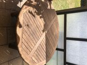 Gartentisch rund Holz 150cm