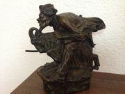 Einzigartige Skulptur aus Bronze Hans