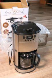 Kaffeemaschine Coffee MAXX silber Edelstahl