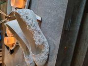 Wunderschöne Brautschuhe in gr 40