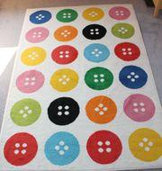 Teppich Tastrup IKEA Knopfdesign