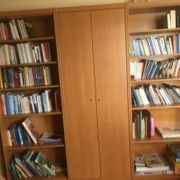 8 Bücherregale holz Bibliothek