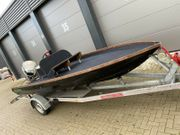 Sportboot Boot 110ps Evinrude Trailer
