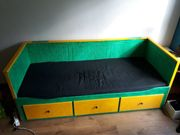 Hemnes Tagesbettgestell 3 Schubladen umlackiert