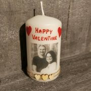 Kerzen zum Valentinstag