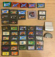 Diverse GameBoy Spiele