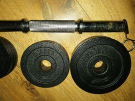 Fitness, Bodybuilding - HANTELN 2x HANTELN