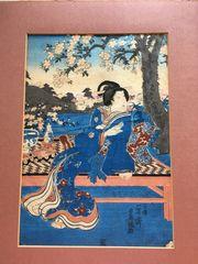 Japanische Holzschnitte 19 Jahrhundert