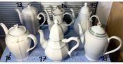 Sammlungsauflösung 18 alte Kaffeekannen