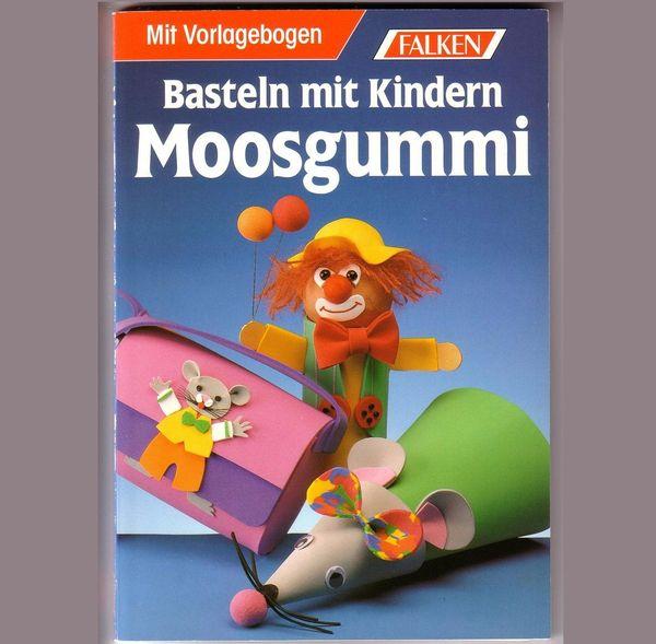 Basteln mit Kindern Moosgummi
