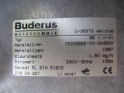 Buderus Brenner BE 1 0-21