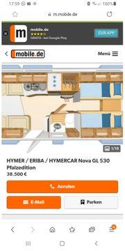 Wohnwagen Hymer GL 530