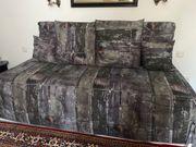 Bett Sultan 1x2m mit Tagesdecke