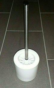 WC Bürste Keramik weiß NEU