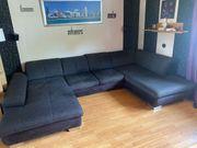 Wohnlandschaft Couch in U-Form