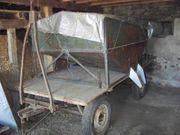 Wagen mit Getreide-Silo