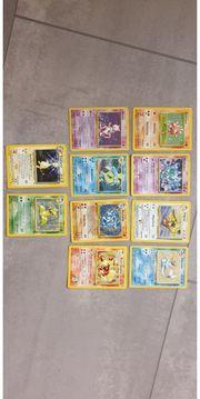 Pokemon Holo Karten