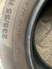 2x Continental 235 55 R17