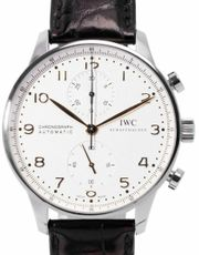 IWC Portugieser Chronograph IW371445 Stahl