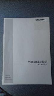 Grundig GV 9000 SV VHS-Videorecorder
