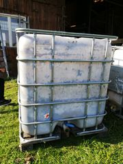 Wassertank 1 000 Liter