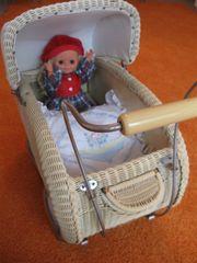 Puppenwagen 50 er Jahre Sammlerstück